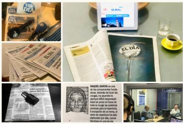 Mi papel con el periódico es otra historia